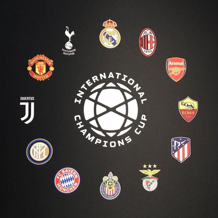 Turnamen pramusim International Champions Cup 2019 telah merilis jadwal pertandingannya. (Foto: Twitter @IntChampionsCup)