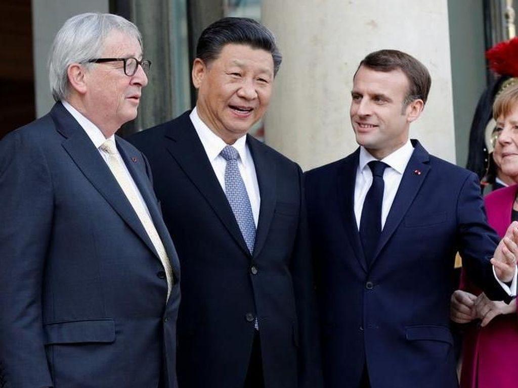 Bawa Order Miliaran Dolar, Presiden China Bertemu Para Pemimpin Eropa
