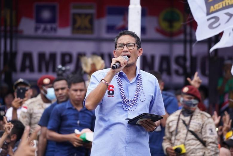 Sandiaga: Prabowo Akan Pidato Kebangsaan di Surabaya