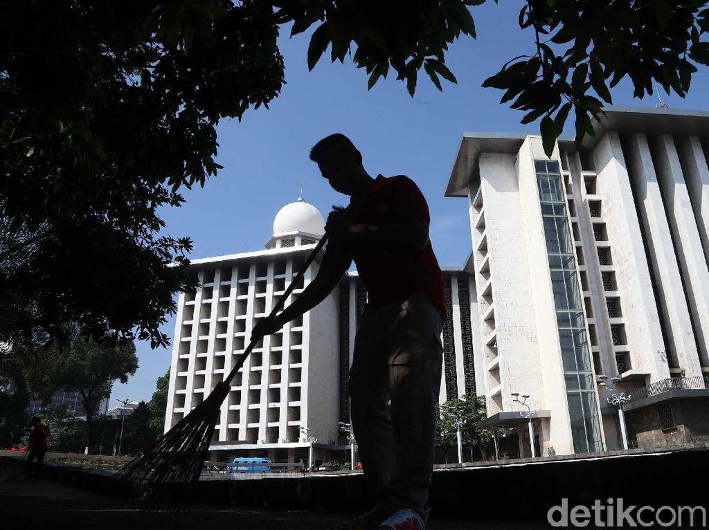 Pemerintah akan Renovasi Besar-besaran Masjid Istiqlal