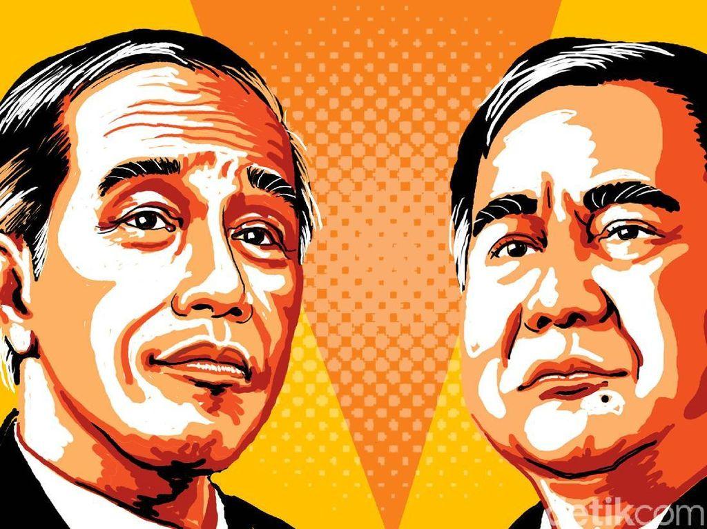 #DoaUntukPrabowoSandi vs #JokowiMengubahSemua Adu Nyaring