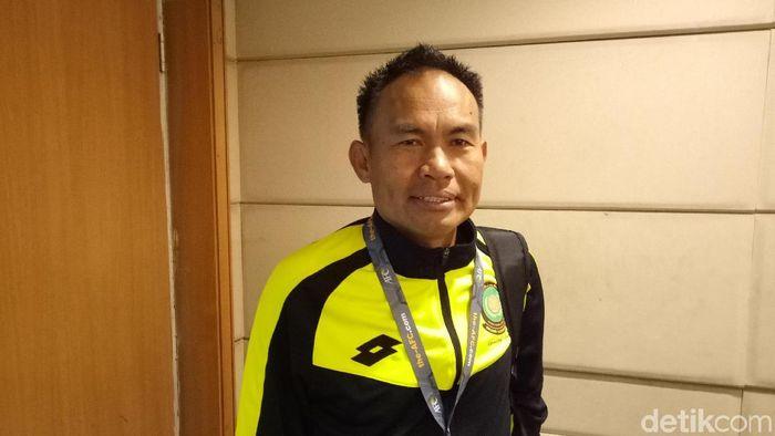 Pelatih timnas Brunei Darussalama U-23 Stephen Ng Heng Seng. (Foto: Randy Prasatya/detikSport)