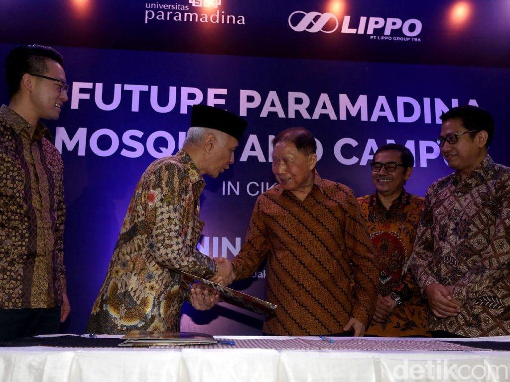 Paramadina dan Lippo Group Kerja Sama Bangun Masjid dan Kampus
