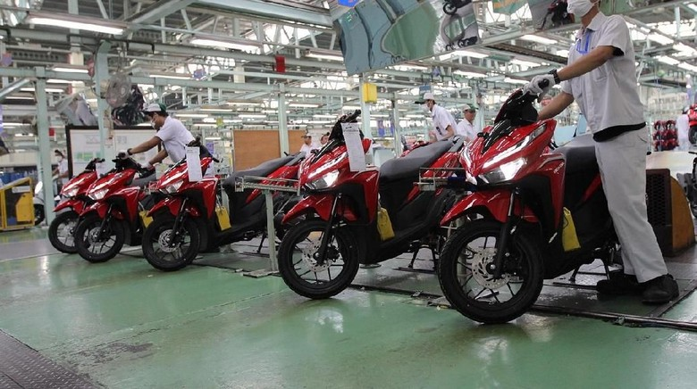 Motor Honda Indonesia Makin Laris di Luar Negeri