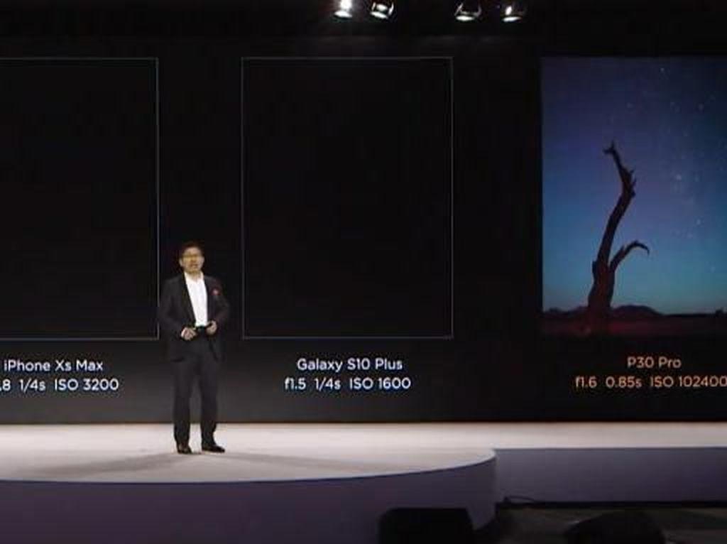 Huawei Klaim Kamera P30 Kalahkan Samsung dan iPhone