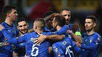 Cetak Setengah Lusin Gol, Italia Perkasa di Kualifikasi Piala Eropa