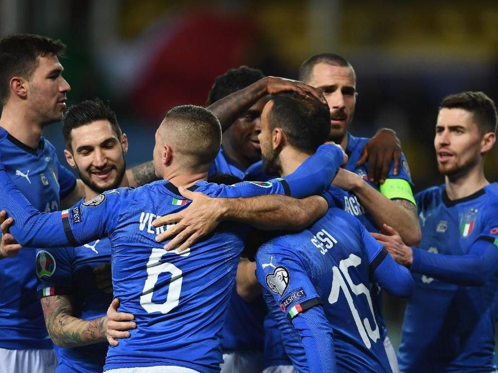 Karena Tak Kendur Konsentrasi Italia