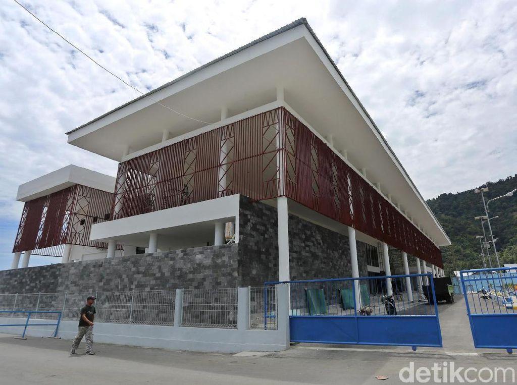 Ini Lho Terminal Penumpang Pelabuhan Babang yang Hampir Rampung