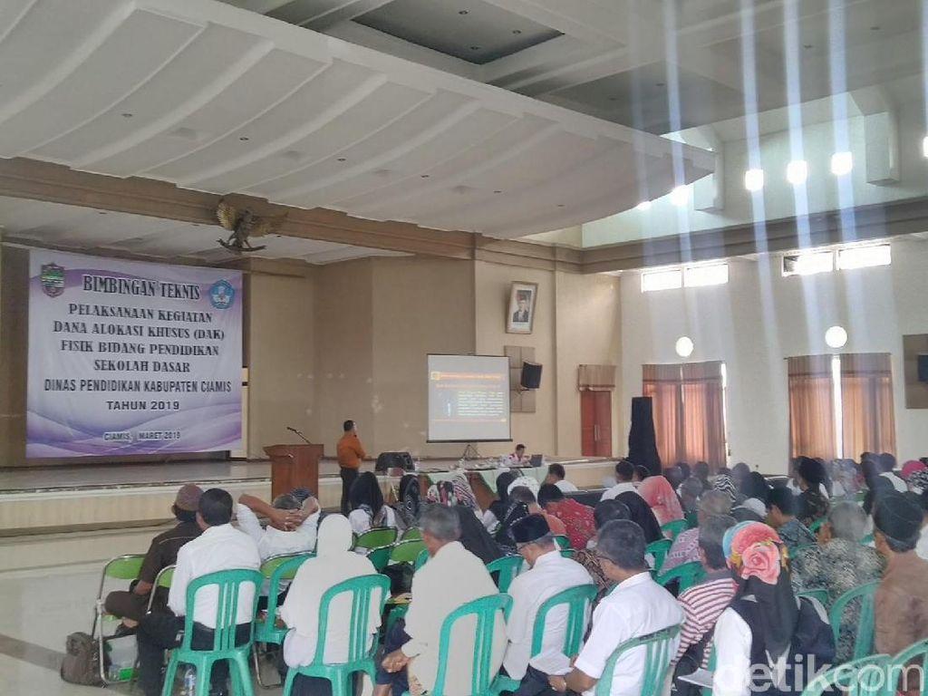 Disdik Ciamis Dapat DAK SD Rp 92 Miliar, Terbesar di Indonesia