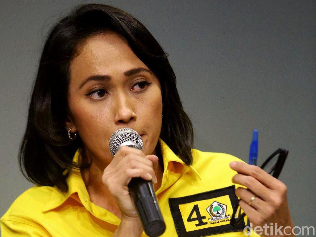 Politikus Golkar Christina Aryani Bicara Potensi Kandidat di Munas Golkar