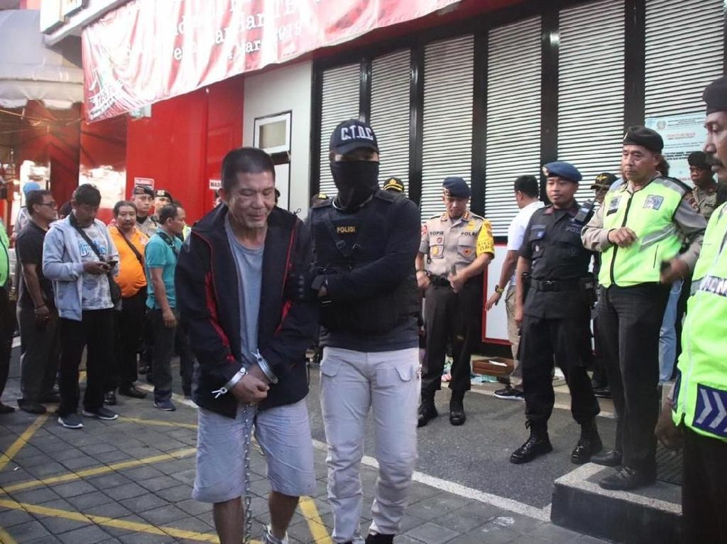 Bos Diskotek di Bali Terpidana Kasus Ekstasi Dipindah ke Nusakambangan
