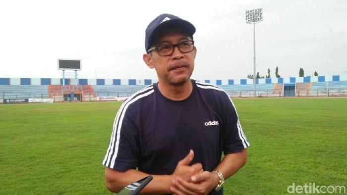 Pelatih Persela Lamongan, Aji Santoso. (Foto: Eko Sudjarwo/detikSport)