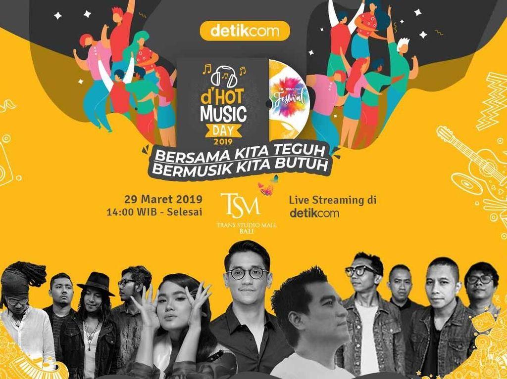 Hari Ini! Jangan Lewatkan Keseruan dHOT Music Day 2019 di Bali