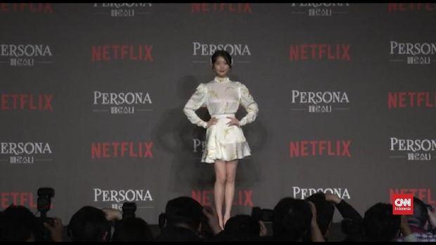 Thumbnail video Lee Ji Eun atau IU membintangi film Persona di Netflix.