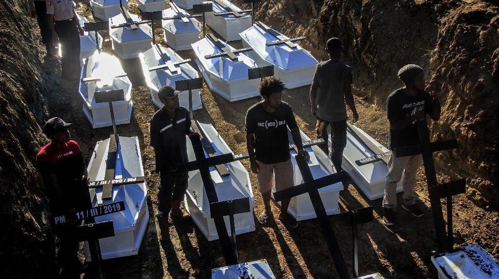 Pemakaman Massal Korban Banjir Bandang Sentani