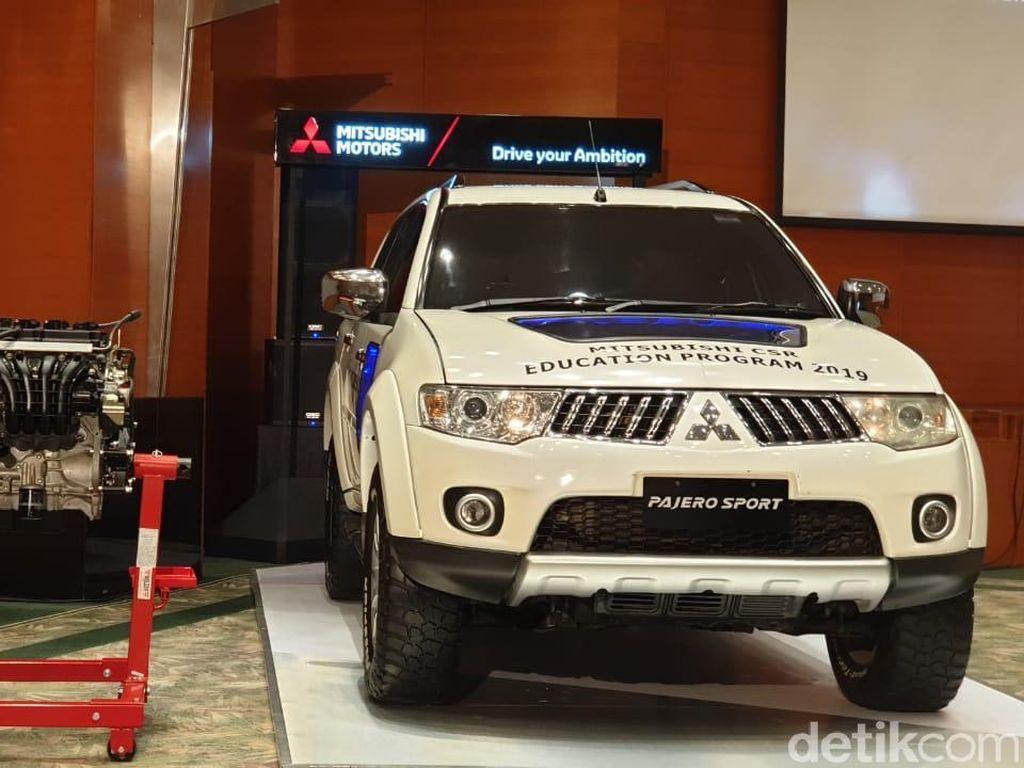 Mitsubishi Pajero Sport Ini Siap Dioprek-oprek Anak SMK