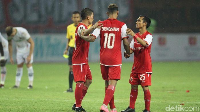Persija Jakarta vs Ceres Negros masih 0-0 di babak pertama (Rifkianto Nugroho/detikSport)