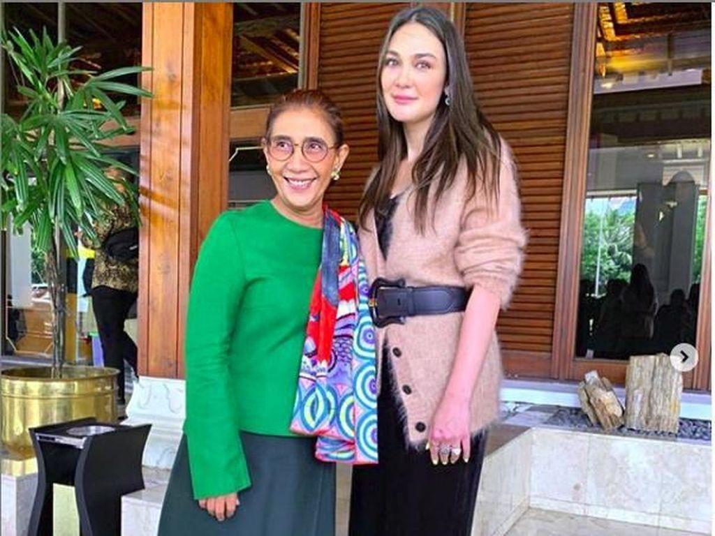 Jadi 99 Wanita Menginspirasi, Luna Maya Bersanding dengan Susi Pudjiastuti