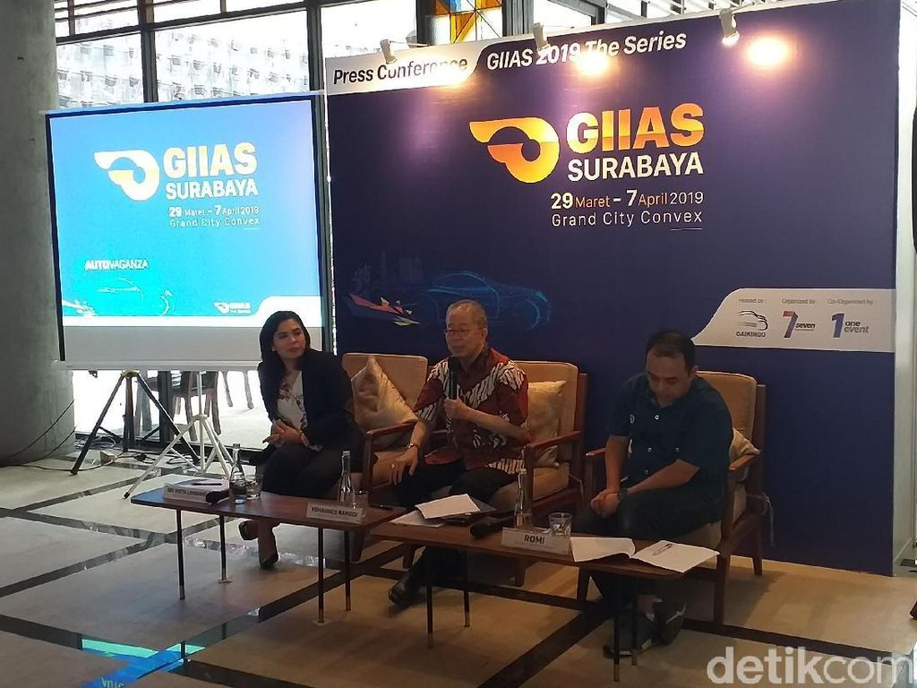 Menperin Buka GIIAS 2019 Surabaya