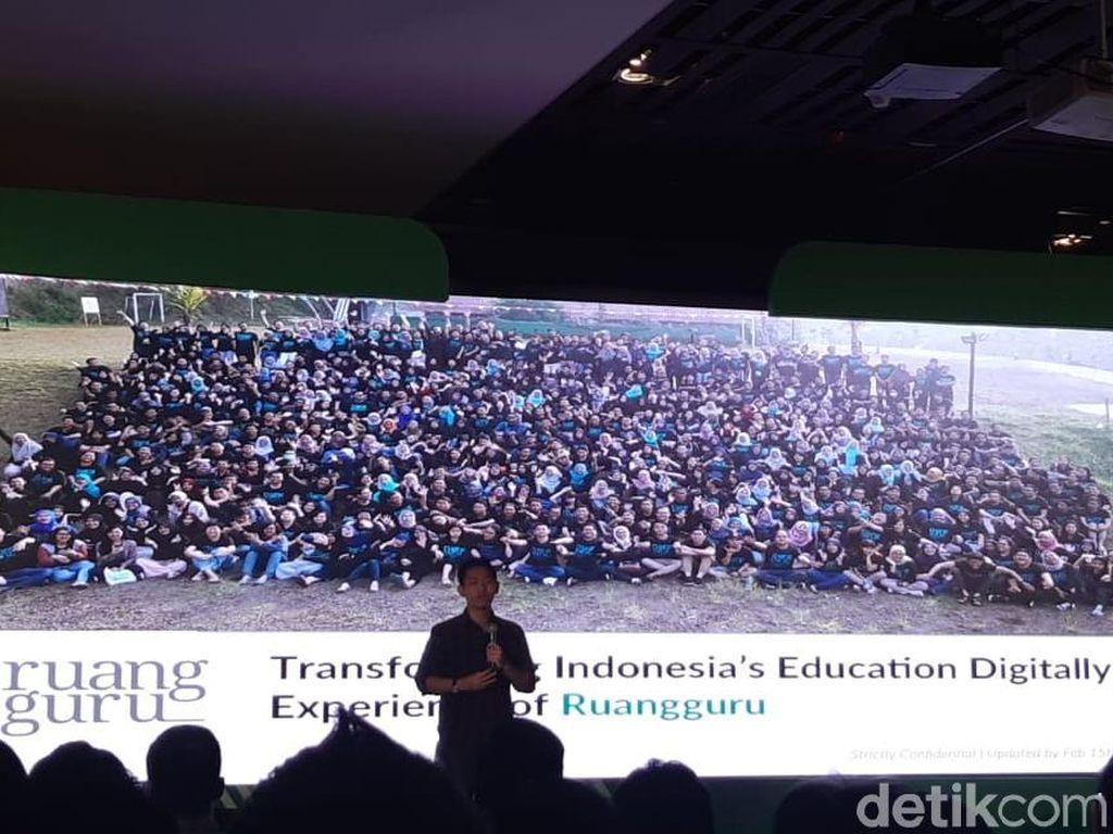 CEO Ruang Guru Bagi Ilmu agar Pendiri Startup Tak Mudah Dikibuli