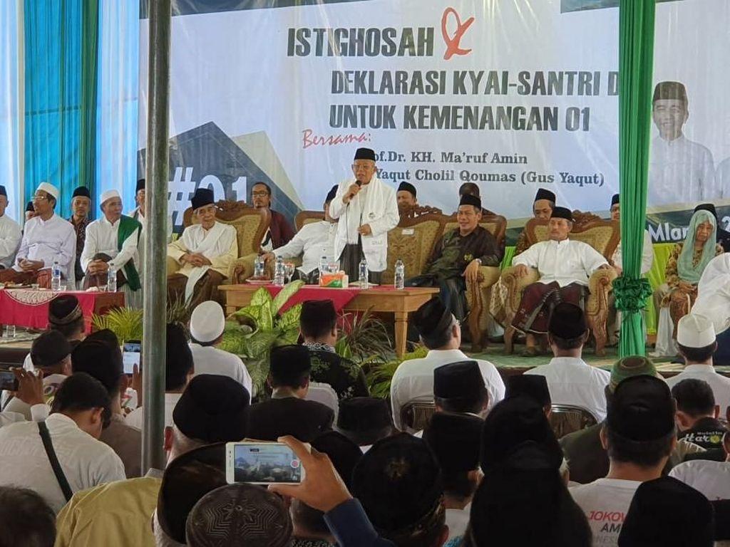 Pedas! Maruf Sindir Prabowo Ambil Cawapres Bukan Hasil Ijtimak Ulama