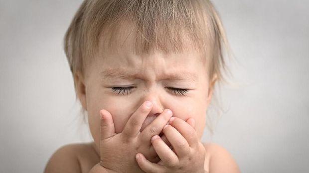 Ilustrasi anak alergi