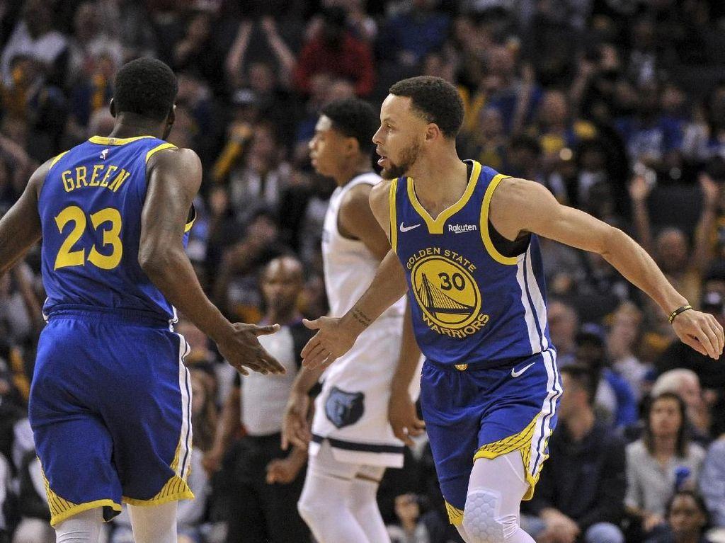 Tak Ada Lawan, Warriors Pasti Juara NBA Musim Ini