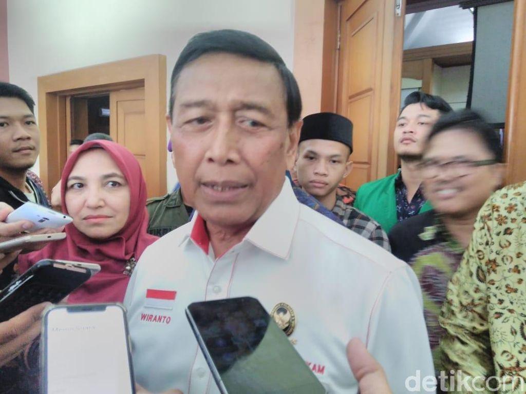 Wiranto: Pengancam Warga agar Tak ke TPS, Saya Usulkan Dijerat UU Terorisme