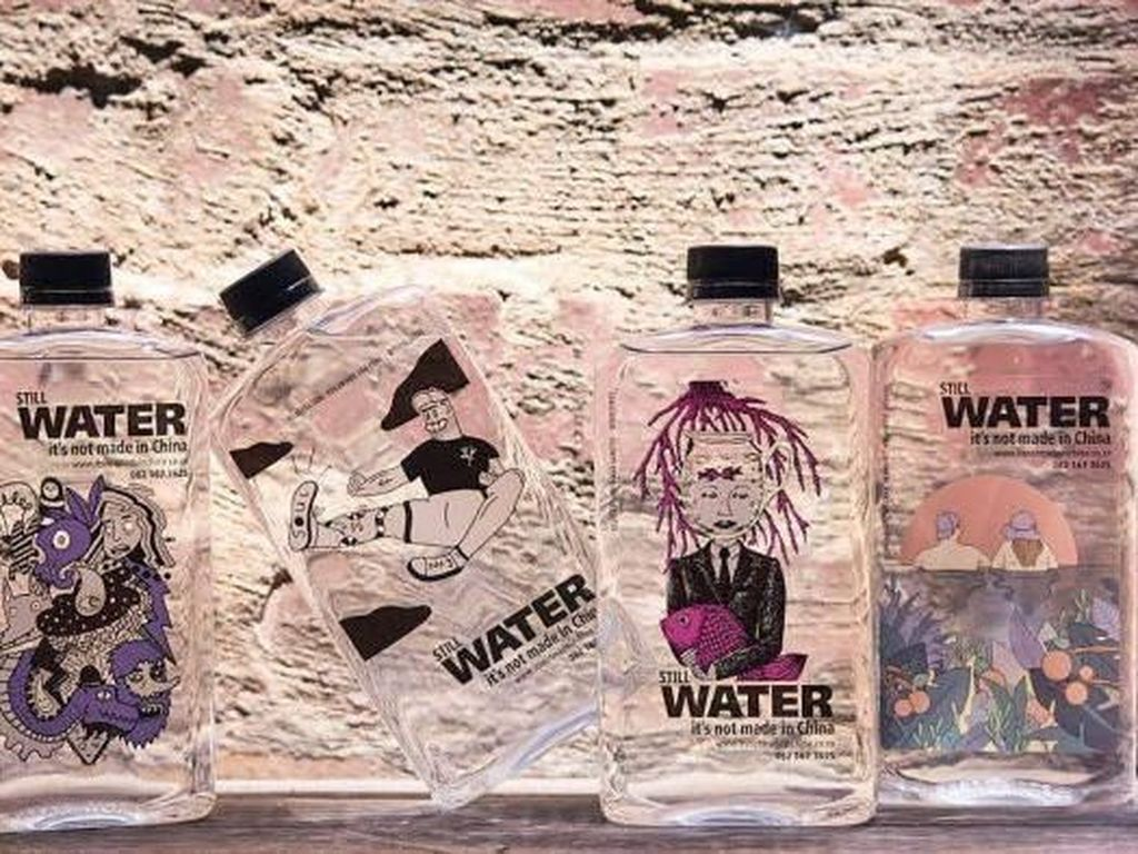 Air Botolan Afrika Selatan Merek Ini Bukan Buatan China Dapat Ancaman Boikot