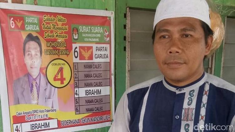 Bermodal Rp 3 Juta, Marbut ini Maju Nyaleg di Palembang