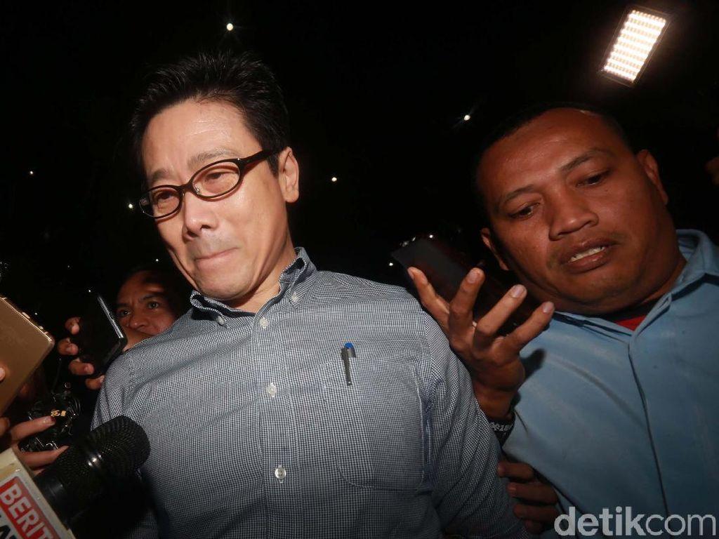 Diperiksa 8 Jam Sebagai Tersangka, Samin Tan Belum Diborgol
