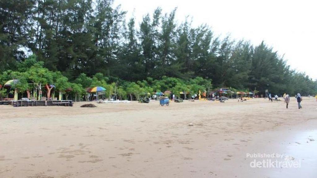 Foto: Pantai Manggar Balikpapan yang Dikunjungi Jokowi
