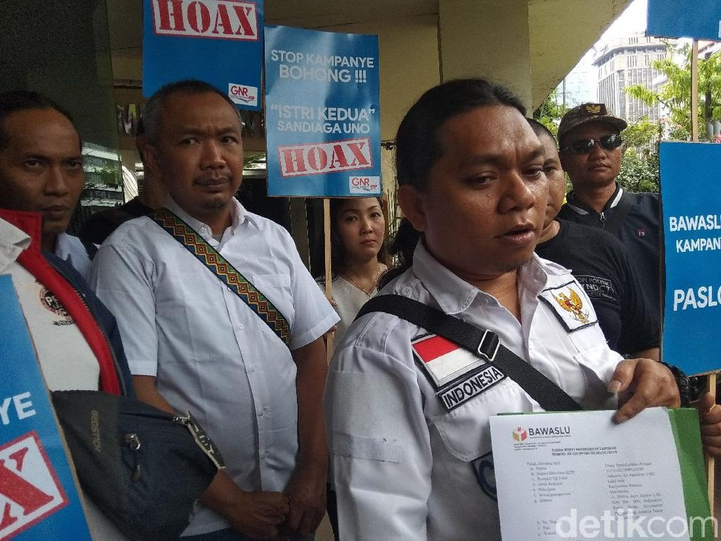 Sandiaga Dilaporkan ke Bawaslu soal Sandiwara Lamaran Vincentia Tiffani