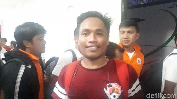 I Gede Sukadana merapat ke PSS Sleman (Foto: Mercy Raya/detikcom)