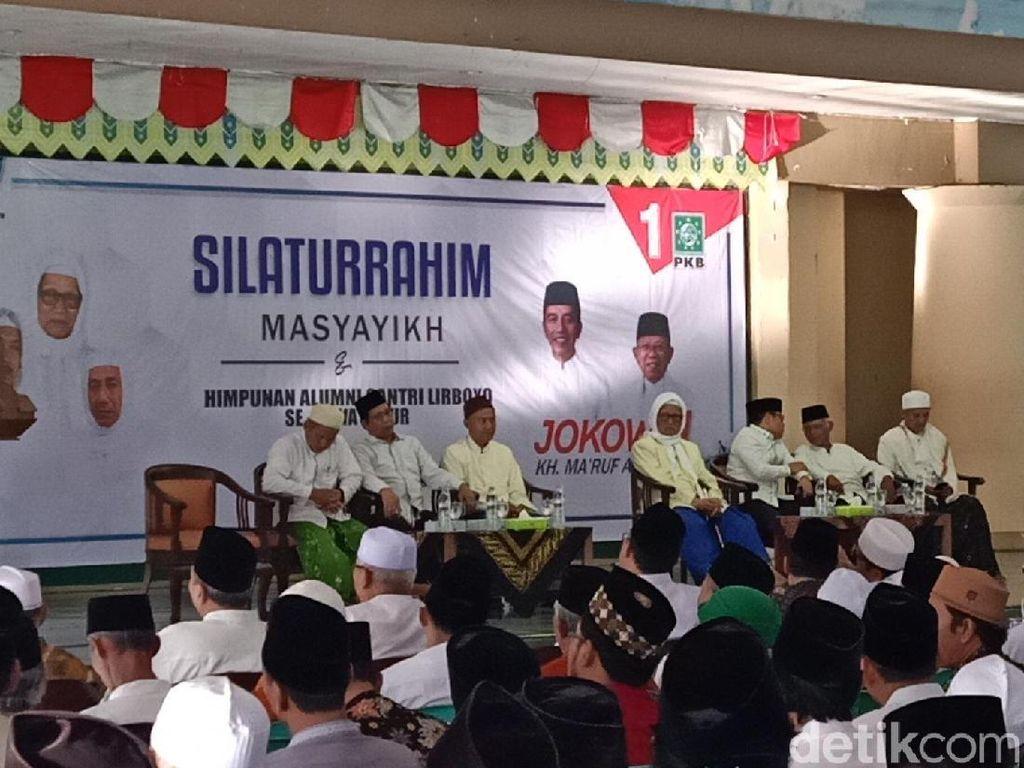 Ulama Kediri dan Alumni Ponpes Lirboyo Kompak Dukung Maruf Amin