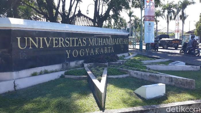Kampus Universitas Muhammadiyah Yogyakarta (UMY), (29/3/2019).