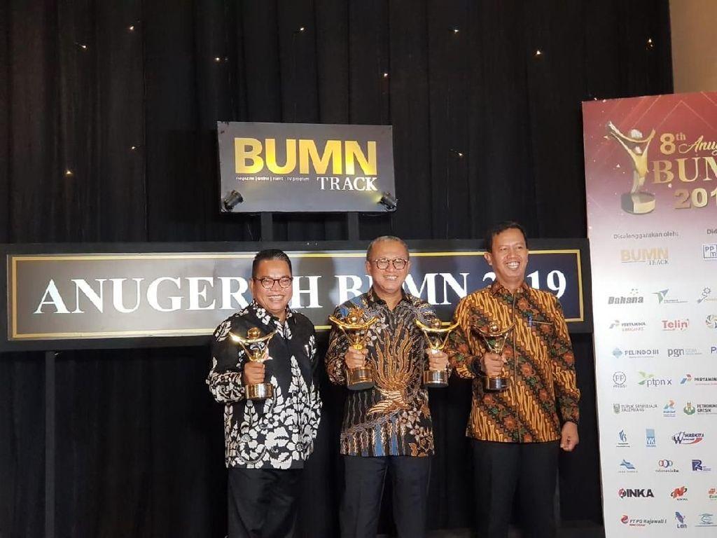 Bukit Asam Borong Penghargaan Anugerah BUMN 2019