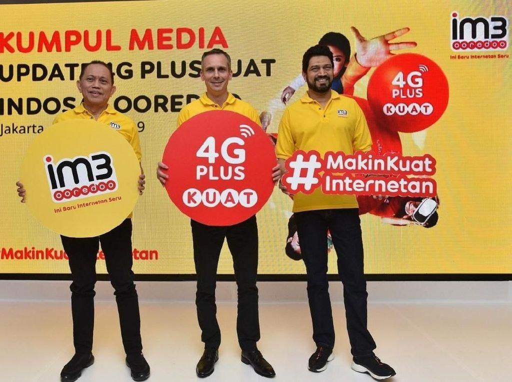 Indosat Perluas Jangkauan, Hadirkan 4G Plus