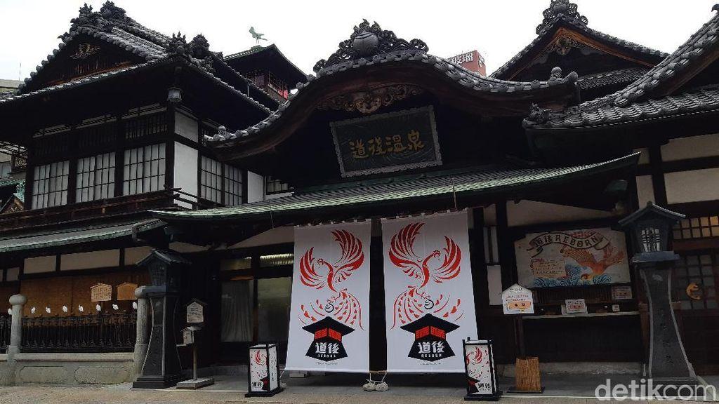 Foto: Mengintip Pemandian Air Panas Tertua di Jepang