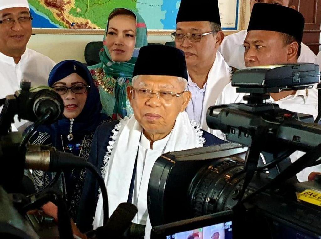 Maruf Ajak Warga Jangan Golput: Liburannya Sesudah 17 April Saja