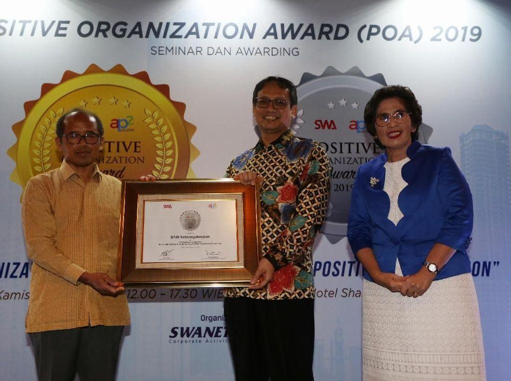 Persembahan Positif Organization Award 2019