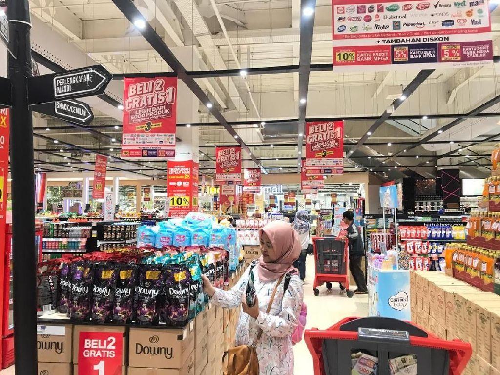 Geger! 5.000 Produk Diobral Transmart Carrefour