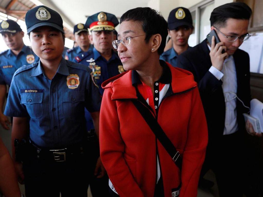 Bebas Usai Bayar Jaminan, Ini Kata Wartawan Pengkritik Duterte