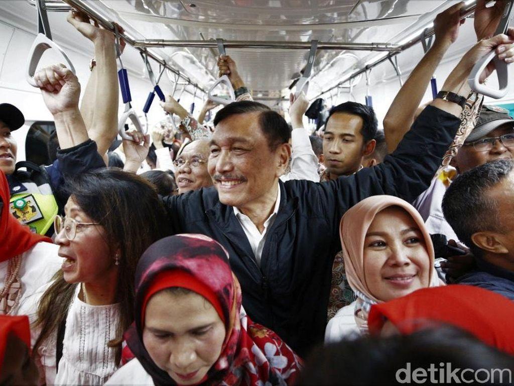 Jajal MRT, Luhut Semringah Banget