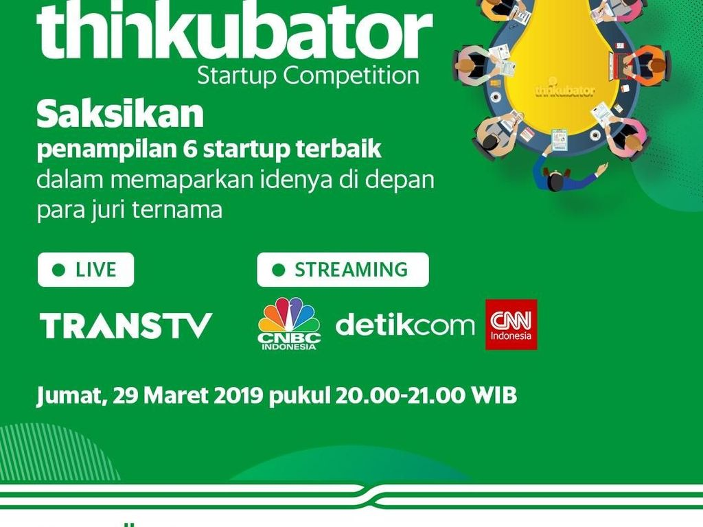 Live Report Live Pitch Thinkubator