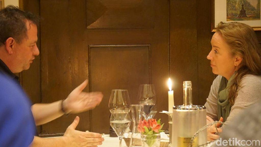 Foto: Tempat Makan Romantis di Jerman, Winehaus Tante Anna