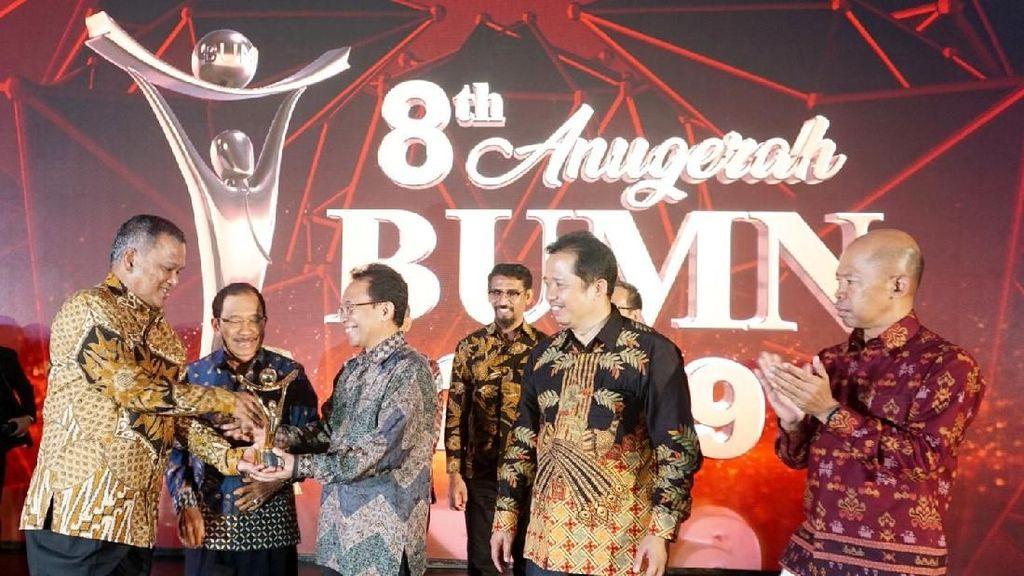 Suasana Anugerah Penghargaan BUMN 2019