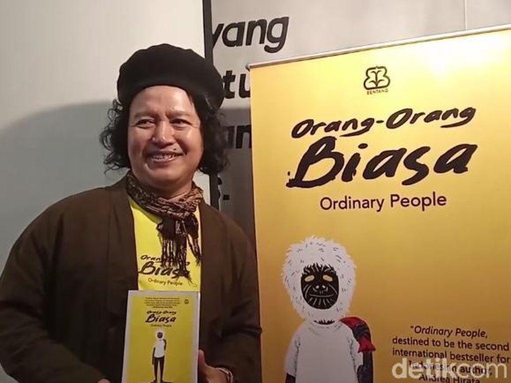 Novel Terbaru Andrea Hirata Orang-orang Biasa Bakal Sambangi Yogyakarta