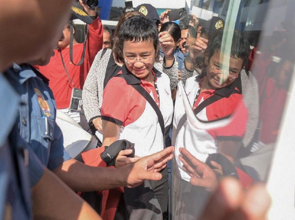 Wartawan Pengkritik Duterte Kembali Ditangkap Polisi Filipina