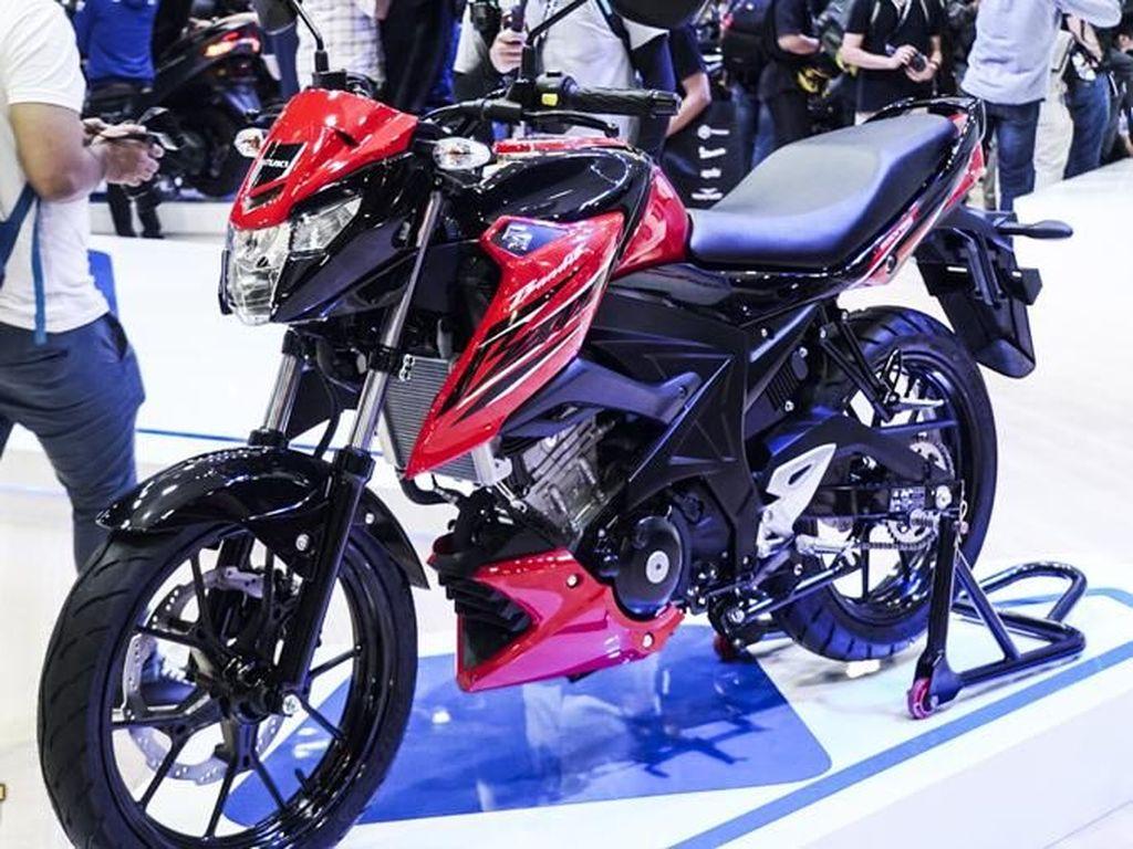 Suzuki GSX Bandit 150 Baru Muncul di Thailand